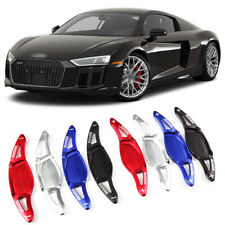 Alloy Steering Wheel DSG Paddle Extension Shifters Cover Fit For Audi R8 16-18