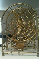NOT IN PRODUCTION ANYMORE Rare Kinetico Studios 3 man clock by GORDON BRADT