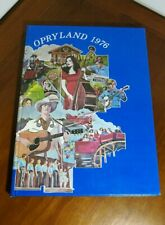 Vintage 1976 Opryland Employee Yearbook Amusement Park Nashville