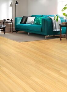 Style Blonde Solid Bamboo Flooring 2.21m2 Pack (£19.80 per m2) SAVE 40% OFF RRP