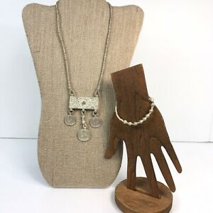 Noonday Collection Convertible Necklace Bracelet Ethiopia Recycled War Weapons