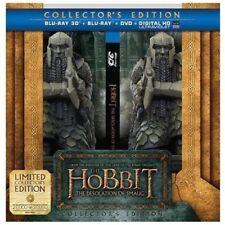 Hobbit Desolation of Smaug Ltd Ed Collector's Gift Set 3D+Blu-Ray+DVD+UV Combo