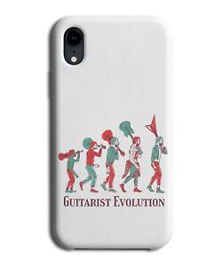 Guitarist Evolution Phone Case Cover Guitar Timeline Time Line Lapse Music M381