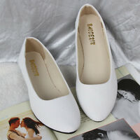 Women Ballerina Ballet Dolly Pumps Ladies Work Flat Loafers Casual Slip-on Shoes