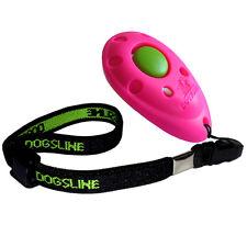 Dogsline Profi Clicker mit elastischer Handschlaufe , Klicker pink , DL08PA