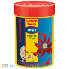 sera Krill Snack Professional 100mL Stick-on Chips Fish Food