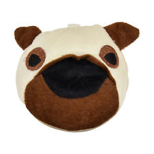 Fun Puppy Plush Portable CD DVD Case Bag Holder Cute 20 Disc Holder