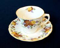 Beautiful Royal Doulton Marigold Cup And Saucer