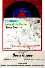 Single Soeur Sourire Dominique - rare deutsch gesungene