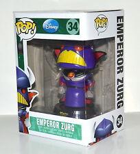 Funko Pop Disney Emperor Zurg Bobble Head Figure #34 Retired