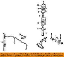 MB518147 Mitsubishi Seat, fr susp spring, upr MB518147