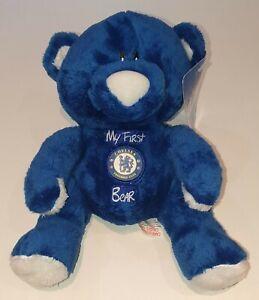 OFFICIAL CHELSEA FC MY FIRST BEAR, CFC, TEDDY BEAR, BABY TEDDY BEAR, THE BLUES