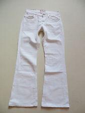 Levi's 529 Bootcut Jeans Hose, W 28 /L 30, Weiß ! White Denim, RARITÄT ! Gr. 36