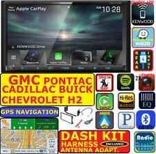 GM-CAR-TRUCK-VAN-SUV KENWOOD GPS NAV BLUETOOTH APPLE CARPLAY ANDROID AUTO STEREO