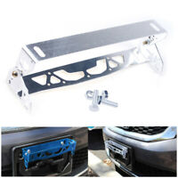 1 Pcs New Universal Car Truck License Number Plate Holders Surround Frame Silver