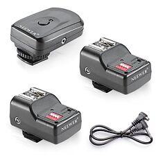Neewer 16 Channel Wireless Remote FM Flash Speedlite Radio Trigger for Camera