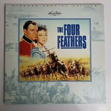 The Four Feathers Laserdisc Pioneer Special Edition PSE95-66