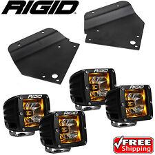 Rigid Radiance LED Fog Light w/ Amber Backlight for 10-14 Ford F150 Raptor SVT