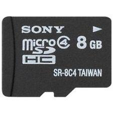 Sony 8GB MicroSDHC Card - SR8A4/TQMN