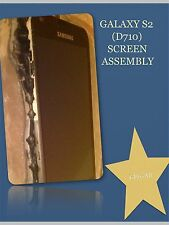 OEM SAMSUNG GALAXY-S II D710 EPIC TOUCH BLACK FULL SCREEN ASSEMBLY AND FRAME