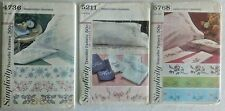 1960's Embroidery Transfers Sheets & Pillowcases – Simplicity 4736, 5211 & 5768
