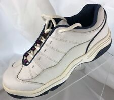 Woman's Dexter Golf Shoes Size 8.5 Gf328-8 White with Blue Trim Comfort Flex
