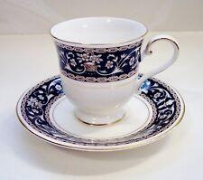 Vintage MIKASA china MARKHAM L6212 pattern Cup and Saucer Set