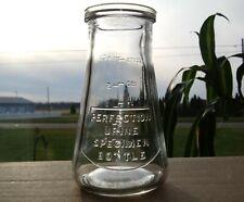New ListingVintage Perfection Urine Specimen Bottle or Ultimate Bar Gag Shot Glass Nos Mint