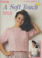 Leisure Arts A Soft Touch women's blouse knitting pattern - 1989