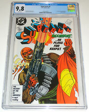 SUPERMAN #4 CGC 9.8 KEY FIRST APPEARANCE BLOODSPORT - SUICIDE SQUAD