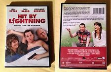 Hit by Lightning (DVD 2015) Jon Cryer, William Sasso, Stephanie Szostak (sealed)