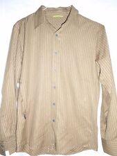 Mint 15x35 Royal Robbins Mens Small/Medium Zipper pocket Tan Shirt ITALY 50 Rei