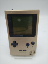 Console Gameboy Pocket Gold Doesn'T Box Tested Japan