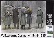 "1:35 Master Box 35172 - ""Volkssturm, Germany, 1944-1945"" - 5 Figure Set Model"