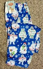 Men's adult Xl Abominable Snowman (Rudolph) sleep pants! New with $32 tags!