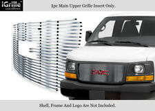Fits 2003-2018 GMC Savana Explorer Conversion Stainless Steel Billet Grille