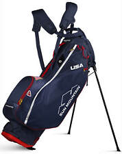 Sun Mountain 2.5+ 14-Way Golf Stand Bag Navy/White/Red Usa 2020 New