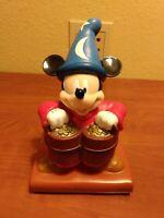 Walt Disney World Mickey Mouse Wizard coin bank