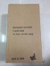 Hot Toys MMS 118 Inglourious Basterds Lt. Aldo Raine Brad Pitt 12 in. Figure NEW