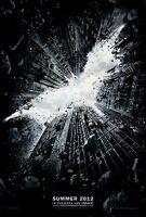 The Dark Knight Rises Original D/S Advance Movie Poster 27x40 NEW 2012 Batman