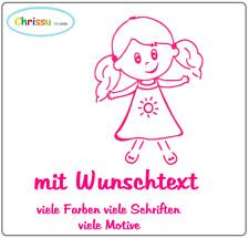 Babyaufkleber Kinder Auto Aufkleber Namenaufkleber Prinzessin Mädchen 136/73