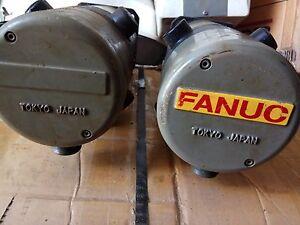 Fanuc DC Servo Motor model 5M A06B-0642-B011 5.9Nm 151v 2000 RPM