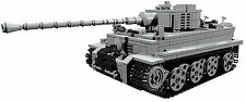 CUSTOM building INSTRUCTION - for WW2 TIGER TANK to build out of LEGO® parts
