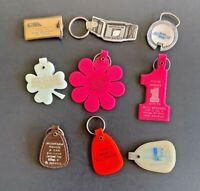 9 Vintage Keychains, Montana AUTO  - Lot 115