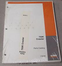 Case 750K Crawler Tractor Parts Manual Catalog 7-7621Na 2003
