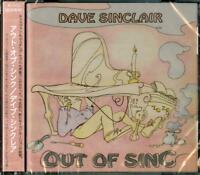 DAVE SINCLAIR-OUT OF SINC-JAPAN CD F56