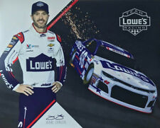 """2018 JIMMIE JOHNSON """"MILITARY LOWES""""  MONSTER ENERGY NASCAR CUP SERIES POSTCARD"""
