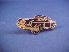 1956,1957,1958 Studebaker HAWK toolbox emblem--black car--easily attach to any