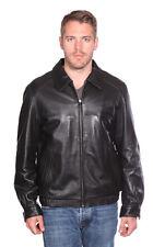 Mason & Cooper Walden Leather Bomber Jacket