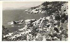 Postcard AUSTRALIA  Queensland, Townsville Fish Cove Alma Bay Letter Real Photo